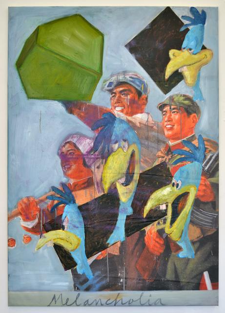 , 'In Memoriam de Revolutionary Mumu Territorium ,' 2016, Marie Kirkegaard Gallery