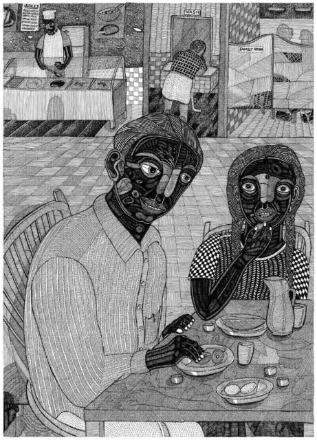 , 'Town Restaurant,' 2006, The Noble Sage Collection