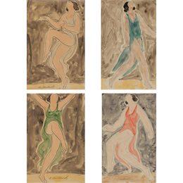 Isadora Duncan (Light Blue); Isadora Duncan (Blue); Isadora Duncan (Green); Isadora Duncan (Red)