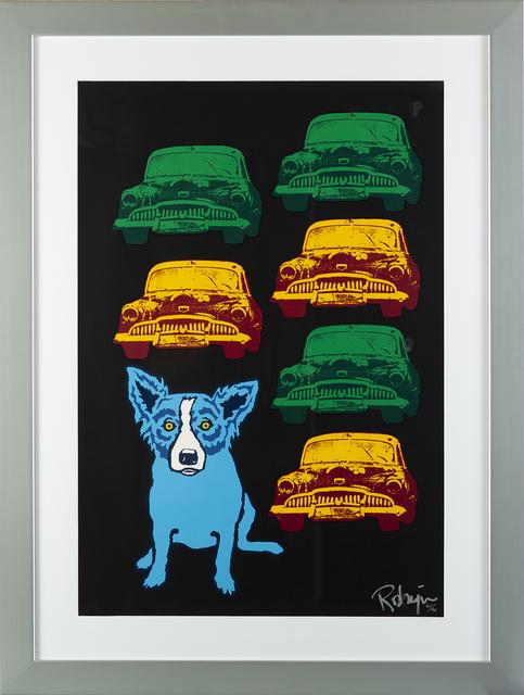 George Rodrigue, 'George Rodrigue  Junkyard Dog Signed Silkscreen Contemporary Art', 1990-2013, Print, Silkscreen, Modern Artifact