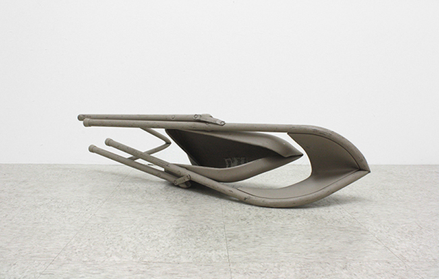 , 'Folding Chair,' 2012, Corey Oberlander + Lindsey Stapleton