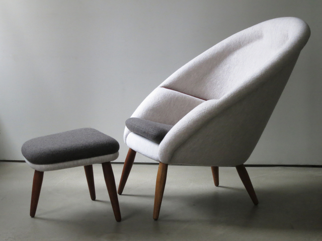 ", '""Oda"" Lounge Chair and Ottoman,' 1953, Vance Trimble"
