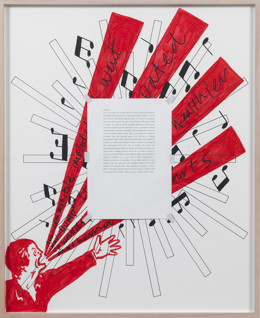 , 'Letters to The Red Crayola 14,' 1976-2012, Kadel Willborn