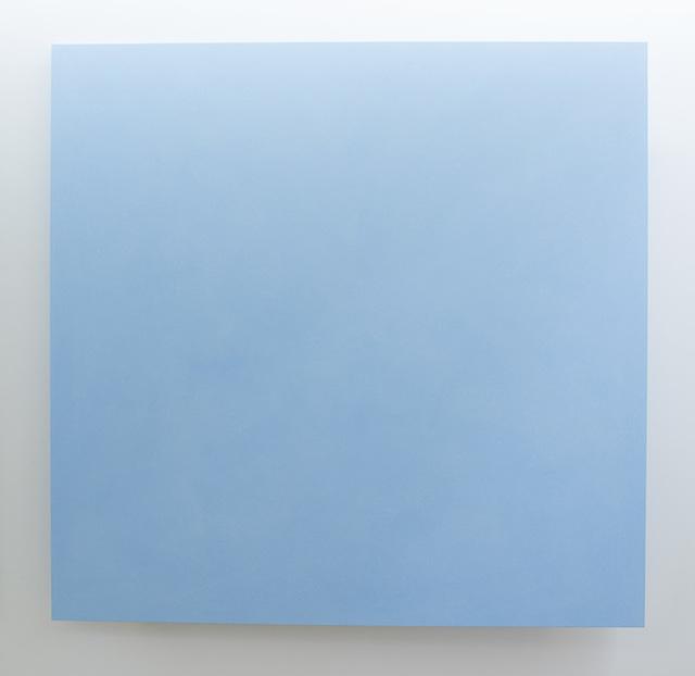 , 'Muro, azzurro,' 2016, Vistamare