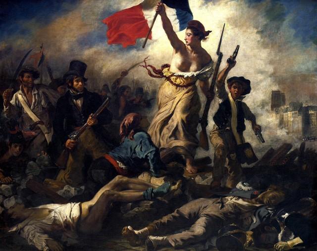 Eugène Delacroix, 'La Liberté guidant le peuple (Liberty Leading the People)', 1830, Musée du Louvre