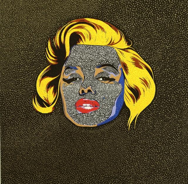 Philip Tsiaras, 'Black Marilyn', 2019, HG Contemporary