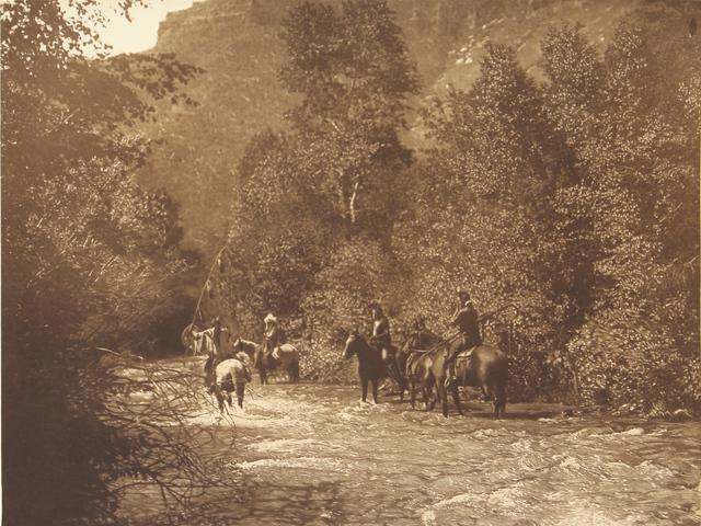 , 'A Mountain Fastness - Apsaroke,' 1907-1930, Empty Gallery