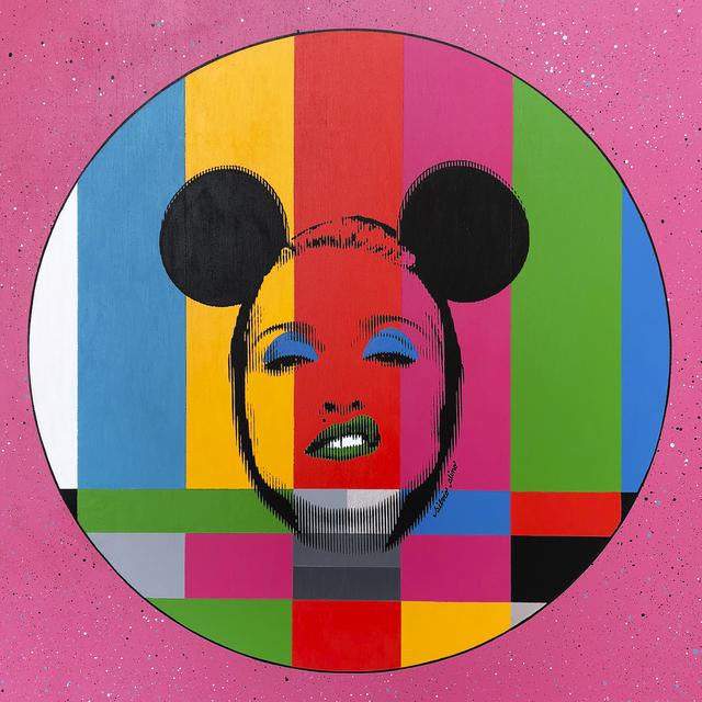 Silvio Alino, 'Pop Icon Test Card Series Pink', 2018, 3 Punts Galeria