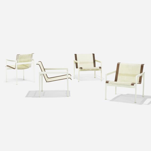 Richard Schultz, 'Leisure Collection suite', 1966, Design/Decorative Art, Enameled aluminum, vinyl, nylon, Rago/Wright