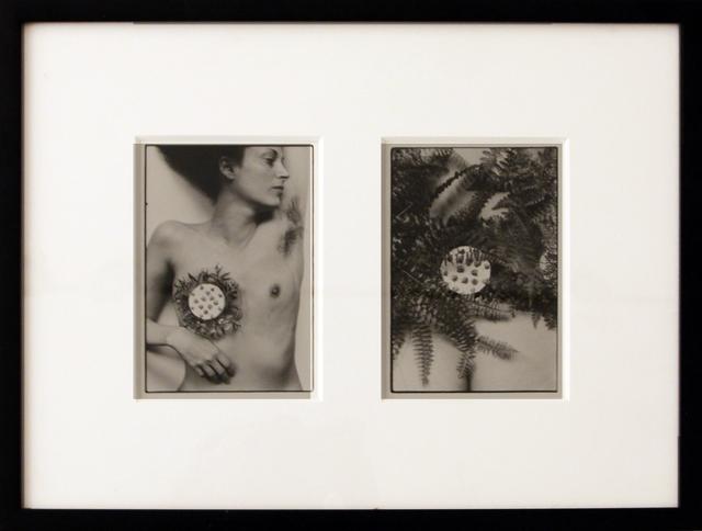 Hannah Wilke, 'Breastplate', 1981, Hal Bromm