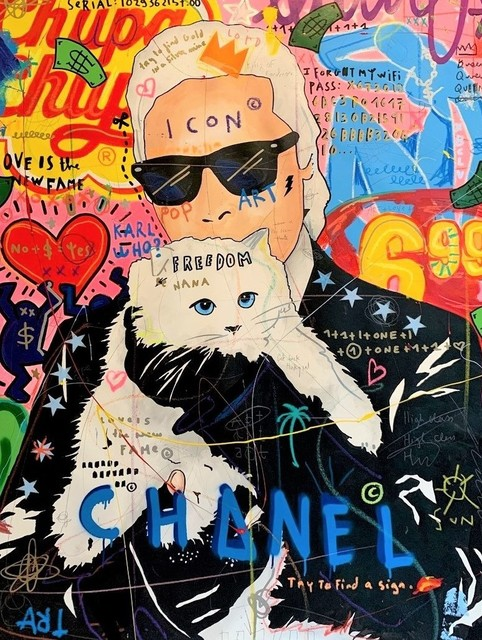 , 'Karl and Cat,' 2019, Galerie Montmartre