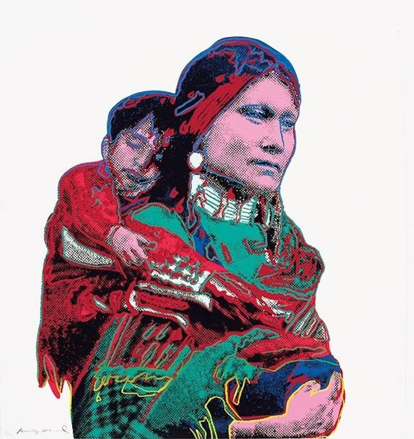 Andy Warhol, 'Mother and Child (FS II.383) ', 1986, Print, Screenprint o Lenox Museum Board, Revolver Gallery