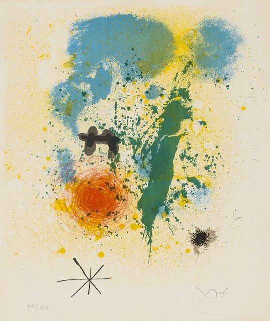 Joan Miró, 'Untitled (Dupin 332)', 1964, Forum Auctions