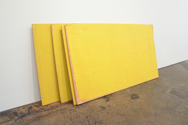 , 'STACK - Safety Yellow,' 1985-1992, Minus Space