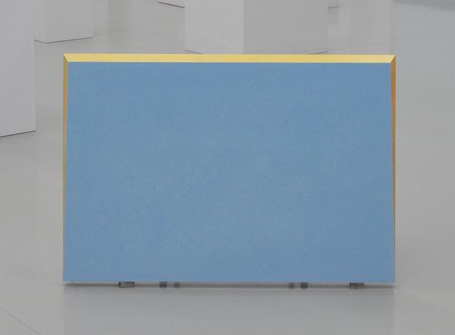 , 'Azzurro tenue, oro,' 2015, Vistamare