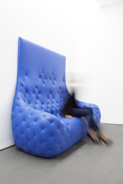 , 'Monochromes Sofa (Blue),' 2011, Carpenters Workshop Gallery