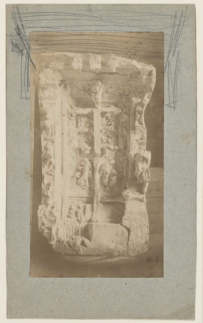 , 'Maquette de la Porte de l'Enfer en plâtre (Model for The Gates of Hell),' c. 1881, Musée Rodin