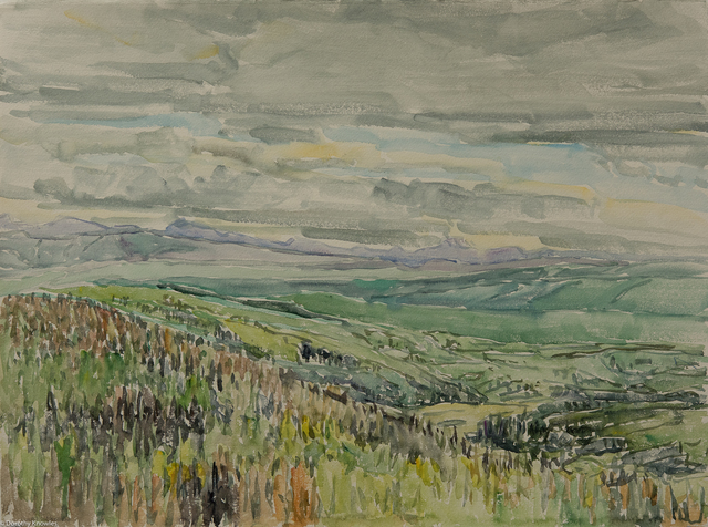 , 'A Ranch in June,' 1989, Wallace Galleries