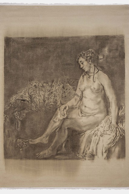 RASSIM®, 'Rembrandt. Bathsheba at Her Bath', ONE MONEV Gallery