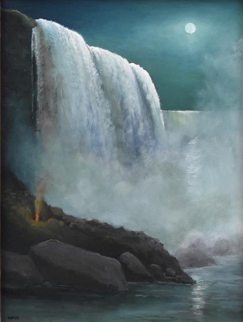 , 'Niagara Midnight ,' 2019, Copley Society of Art