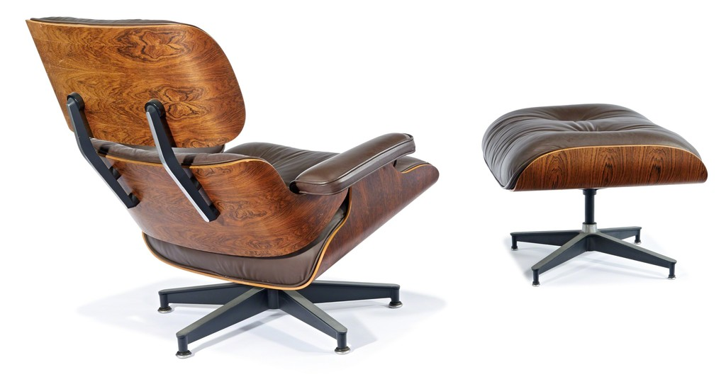Charles And Ray Eames Lounge Chair Ottoman Designed - Charles eames lounge chair