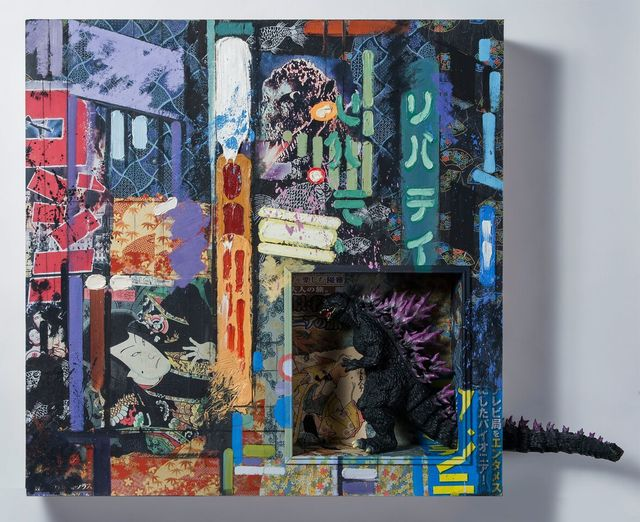 , 'Gojira,' 2016-2017, Ro2 Art