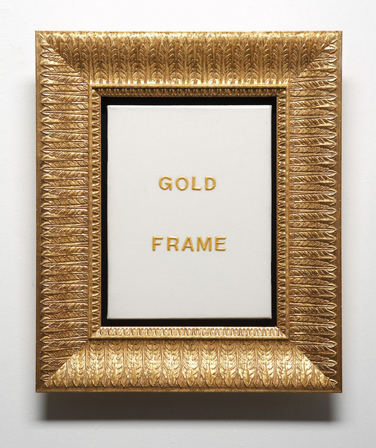 , 'Gold Frame,' 2006, Wilding Cran Gallery