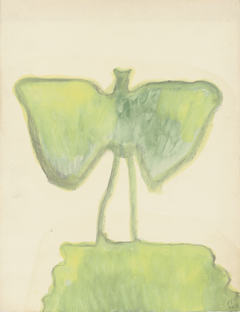 ", '""Untitled (Green Bat)"",' 2016, Michael Werner Gallery"