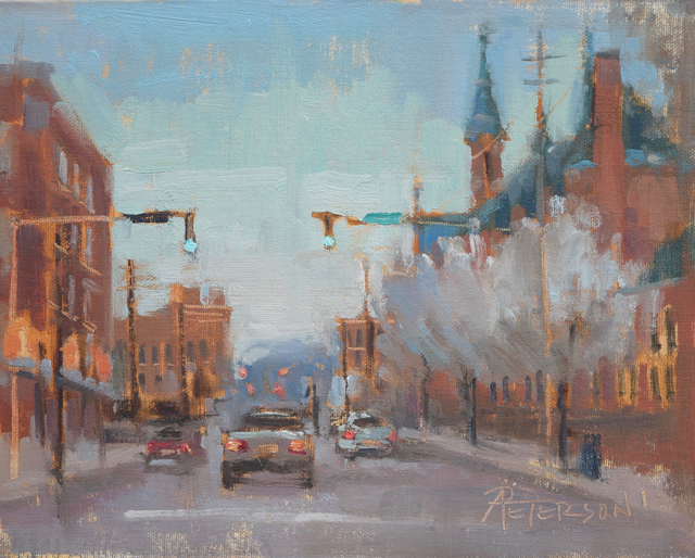 , 'Study for Spring Evening,' , Beverly McNeil Gallery
