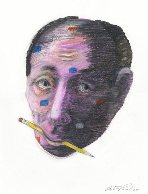 , 'Head Study 35,' 2005, CODA Gallery