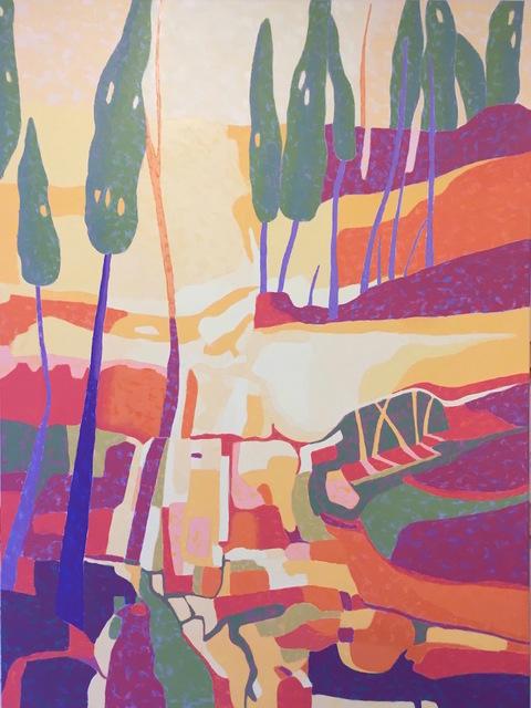 , 'Tuscan Landscape,' 2017, Fountain Street