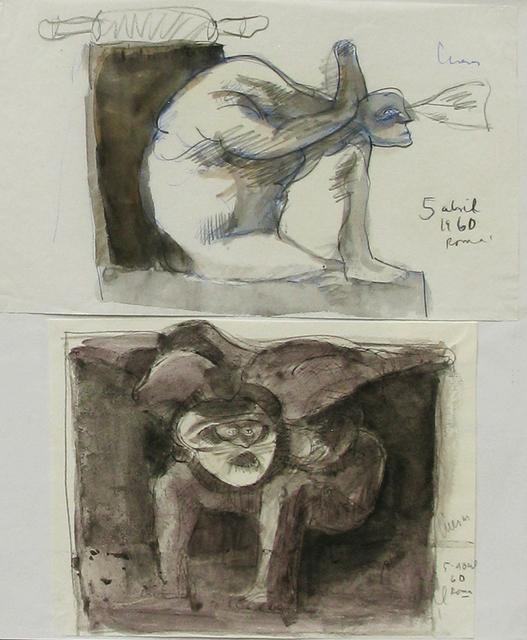, 'Untitled, Roma, 5 de Abril, 1960. ,' 1960, Galeria Oscar Roman