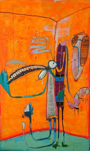 Rafa Macarrón, 'Algo pasa...', 2017, Aurora Vigil-Escalera Art Gallery