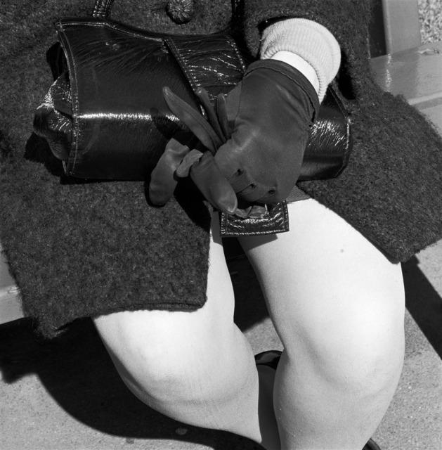 , 'Woman dressed for an occasion, Joubert Park, Johannesburg,' 1975, Goodman Gallery