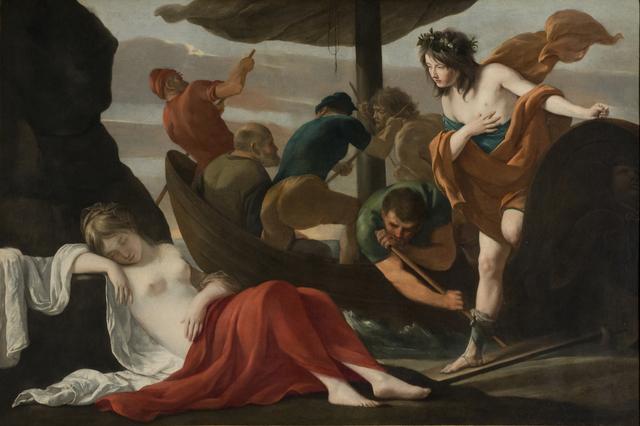 , 'Bacchus and Ariadne,' ca. 1635, Legion of Honor