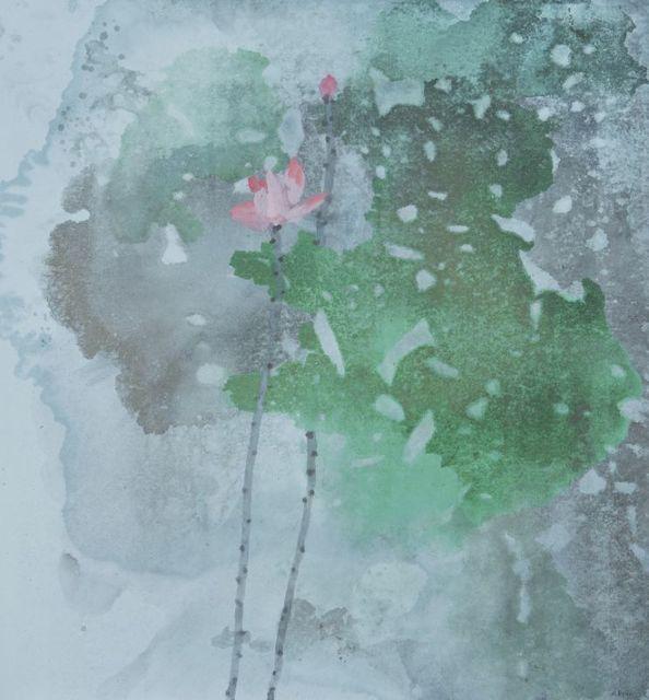 , ' 春浓 Spring Embracing ,' 2016, Ode to Art