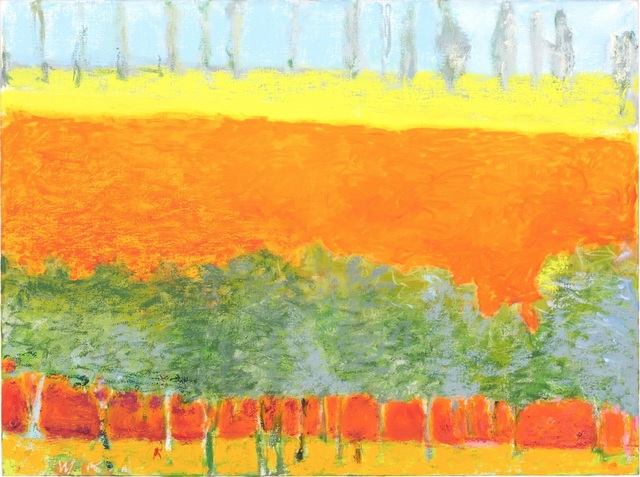 , 'Poplars on the Horizon (Small Version),' 2015, Tayloe Piggott Gallery