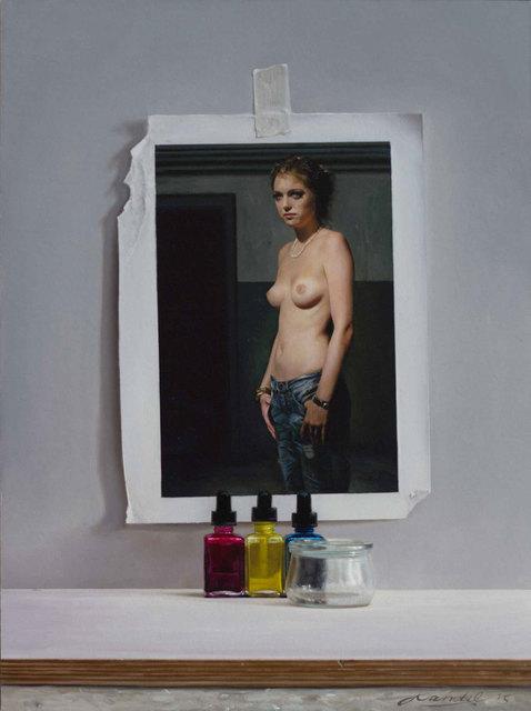 , 'Karina mit Rissen,' 2015, Galerie Klose