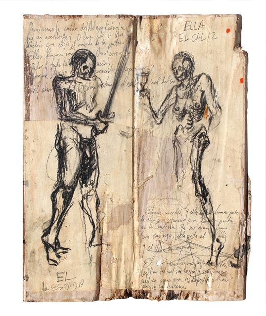 "Gustavo Diaz Sosa, 'Trial for ""Disclosures and Crossroads""', 2019, Victor Lope Arte Contemporaneo"