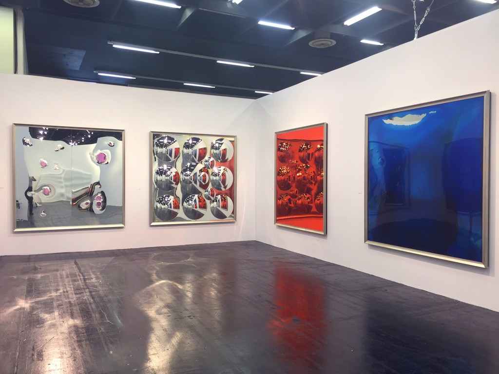 Dale Frank, installation view, Art Cologne 2015