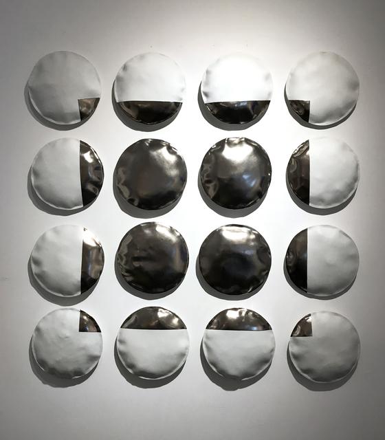 , 'Horizon silver,' 2017, Michele Mariaud Gallery
