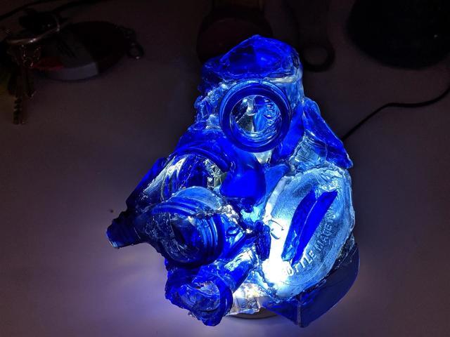 , 'Blue Bottle Blob,' 2010-2020, Brooklyn Waterfront Artist Coalition