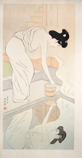 , 'Woman at the Hot Spring,' 1920, Ronin Gallery