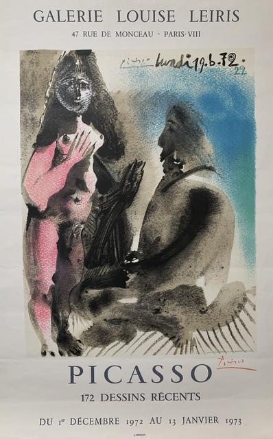 Pablo Picasso, 'Galerie Louise Leiris', 1972, Leonard Fox Ltd