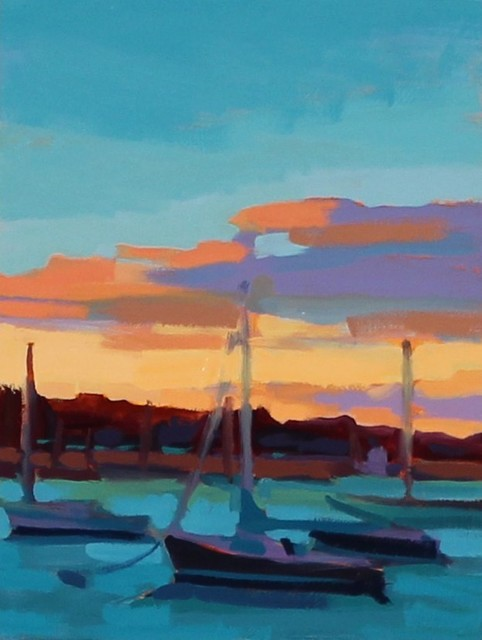 , 'Sailboat Eve,' , LaMantia Fine Art Inc.