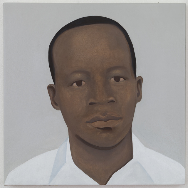 , 'Mahlangu (After Solomon Kalushi Mahlangu). Anti-apartheid activist and Umkhonto We Sizwe fighter, wrongfully accused of murder by the apartheid government and hanged in 1979, aged 22.,' 2016, Mariane Ibrahim Gallery