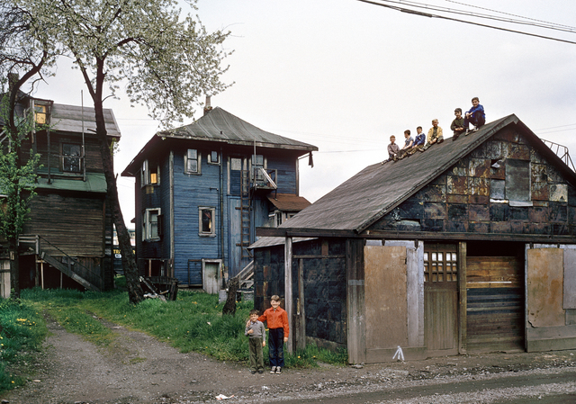 , 'Boys on Shed,' 1962, Equinox Gallery