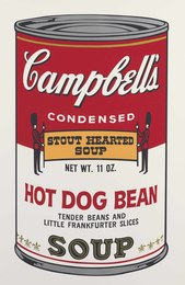 Hot Dog Bean, from Campbell's Soup II