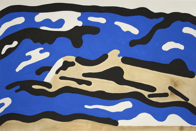 , 'Blue Hills,' 2016, Galerie Laroche/Joncas