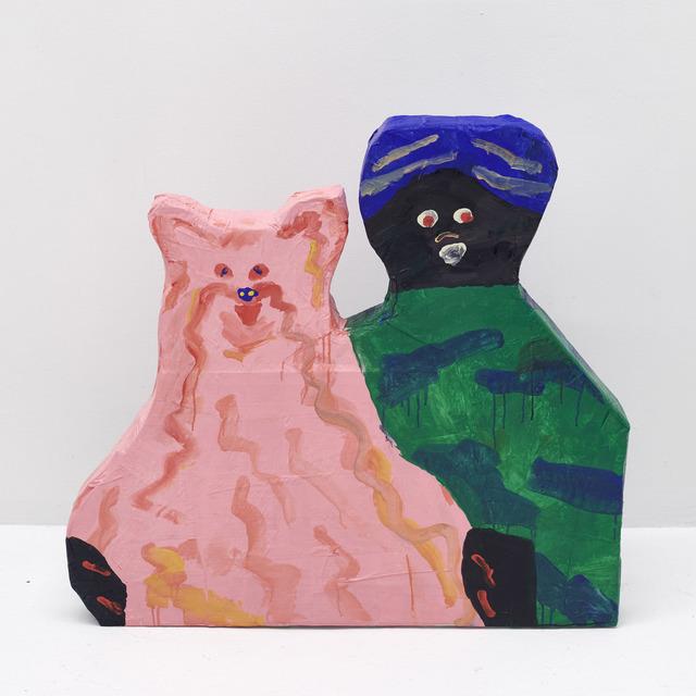 , 'Fuzzy Couple,' 2018, The Hole